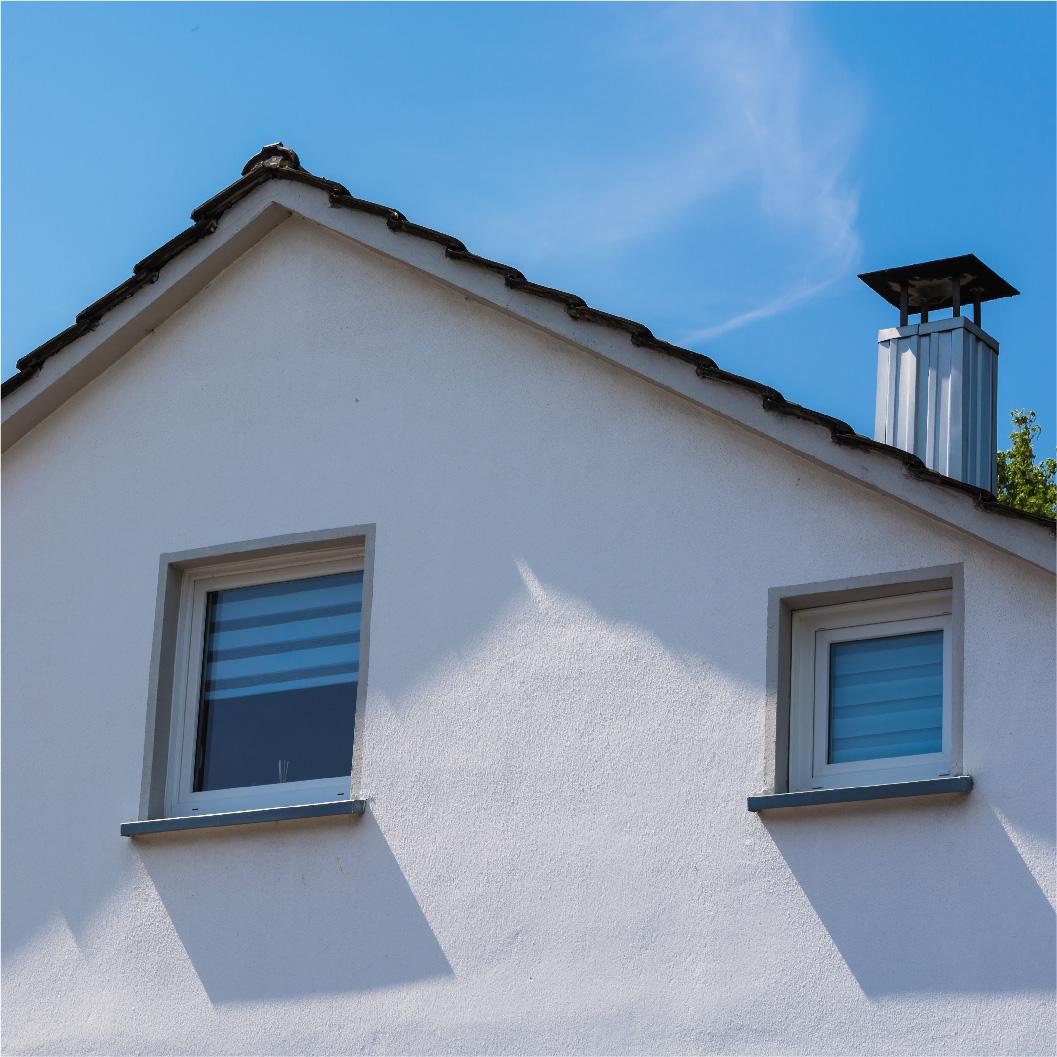 Une façade rénovée qui permet d'éviter le coût prohibitif d'un ravalement de façade