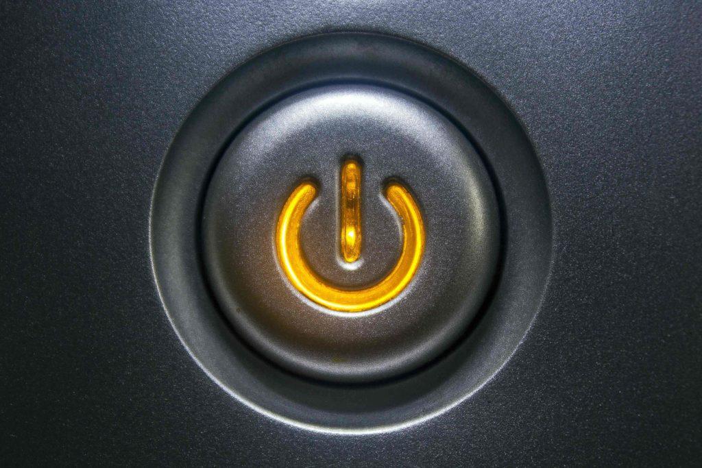 Bouton de veille d'un appareil électrique
